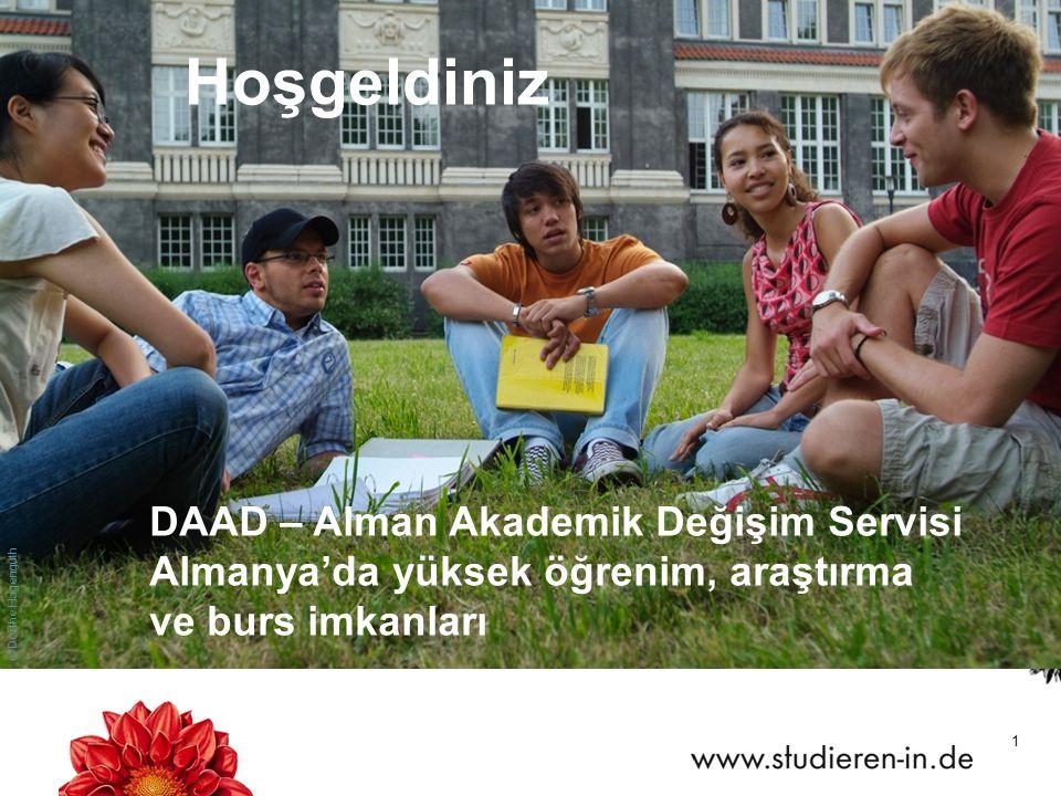 Hoşgeldiniz DAAD – Alman Akademik Değişim Servisi