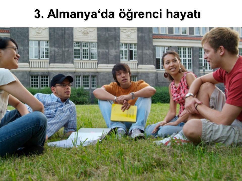 3. Almanya'da öğrenci hayatı