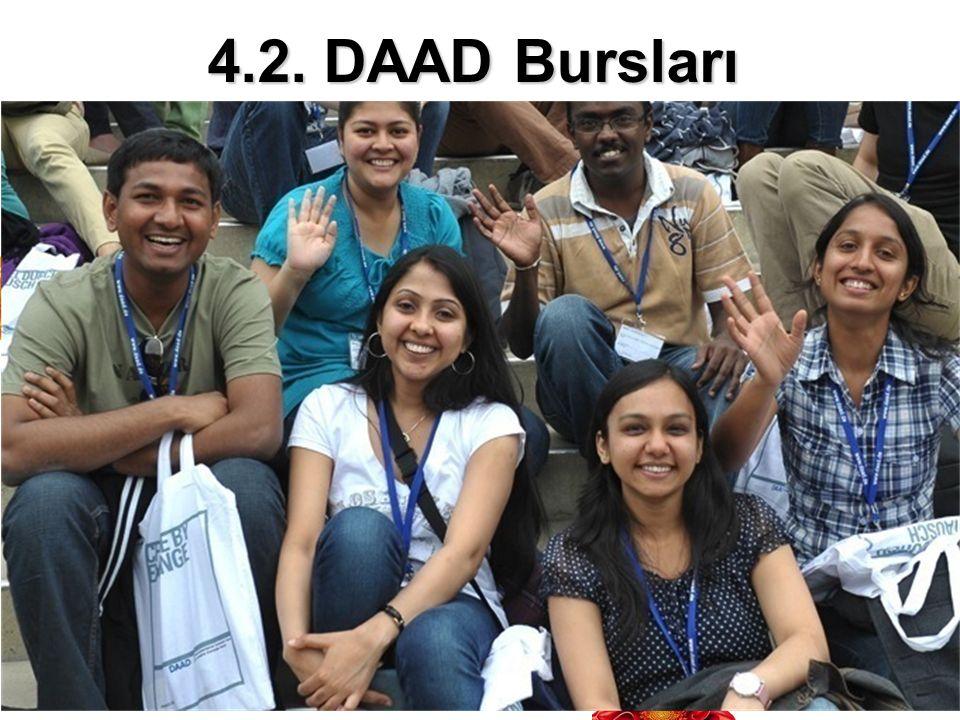 4.2. DAAD Bursları