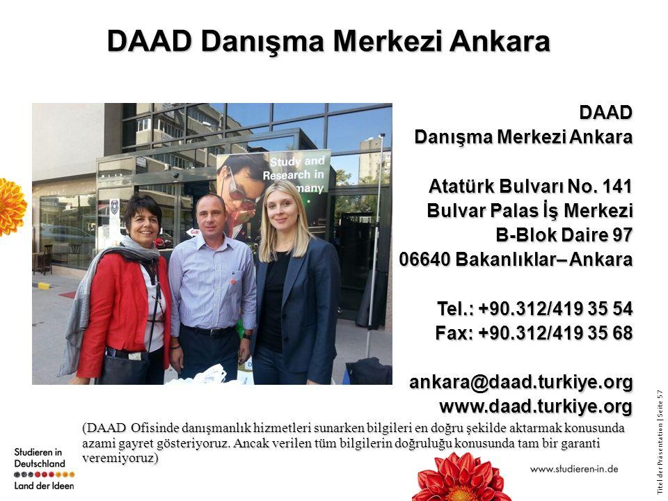 DAAD Danışma Merkezi Ankara