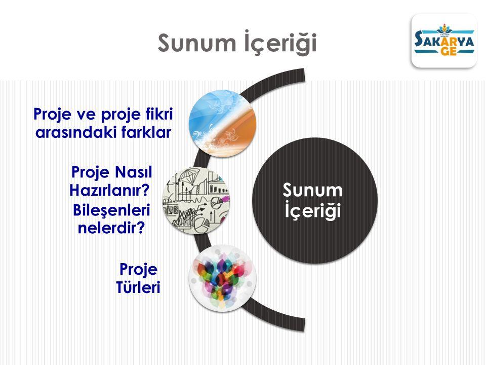 Proje ve proje fikri arasındaki farklar Proje Nasıl Hazırlanır