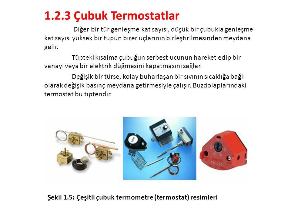 1.2.3 Çubuk Termostatlar