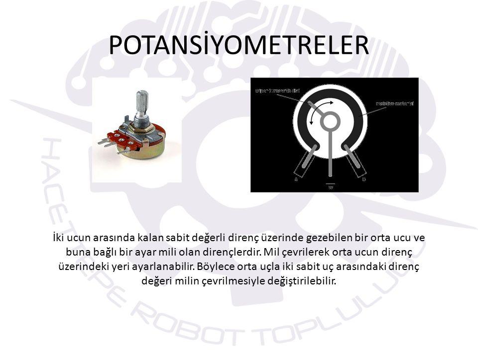 POTANSİYOMETRELER