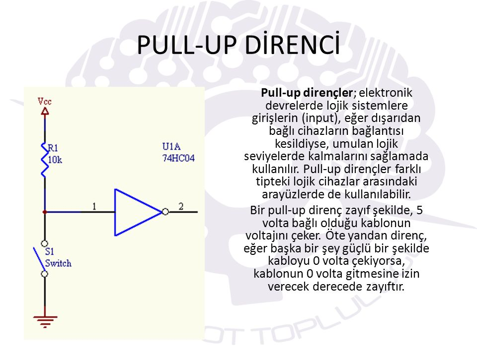 PULL-UP DİRENCİ