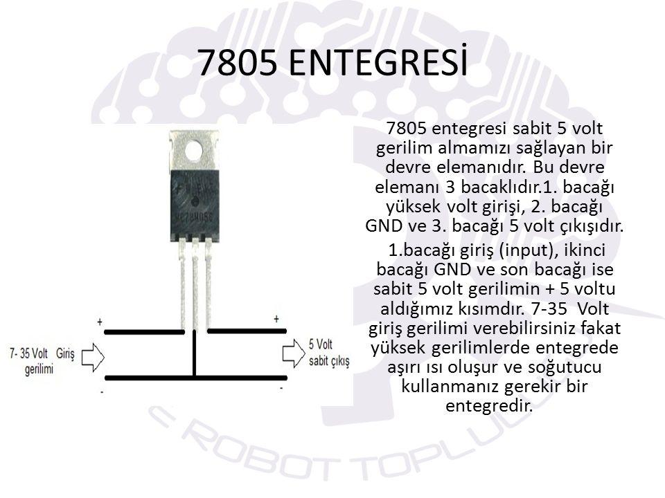 7805 ENTEGRESİ
