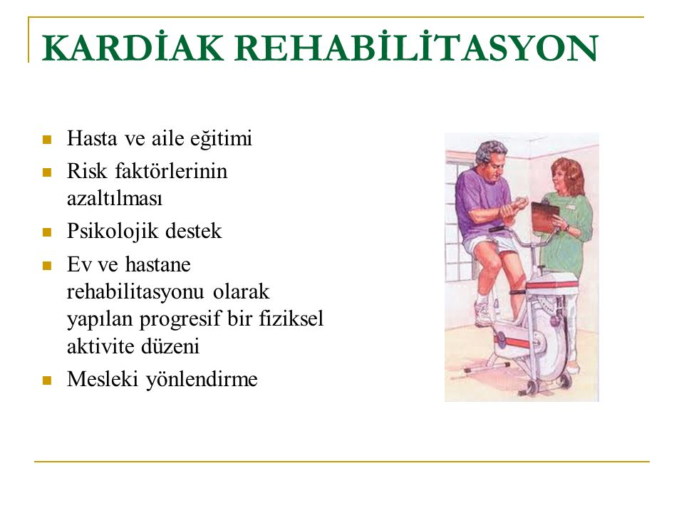 KARDİAK REHABİLİTASYON