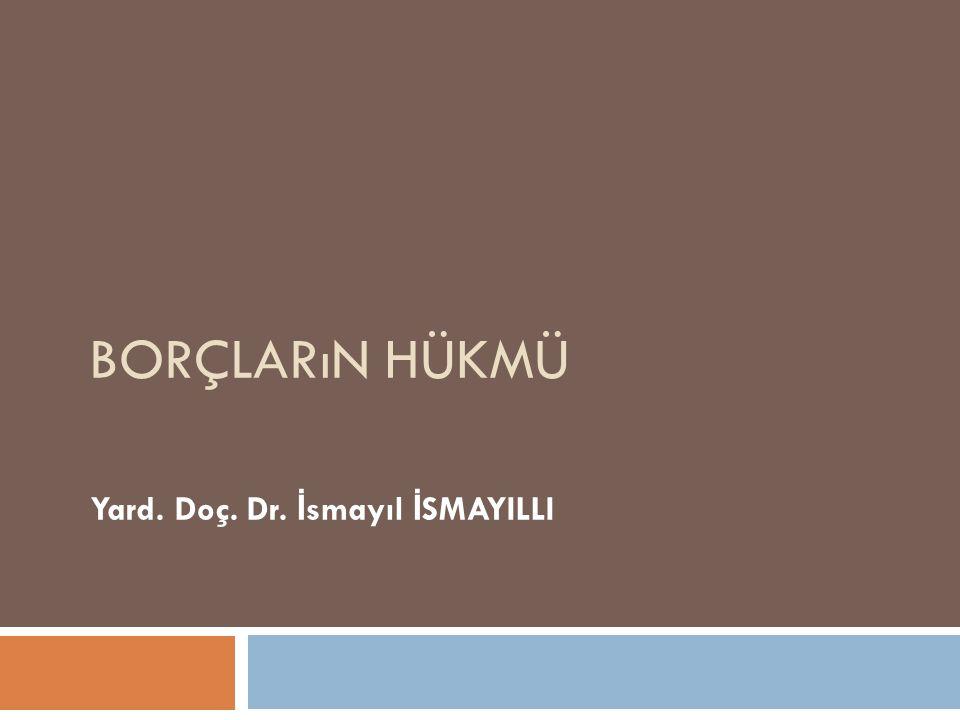 Yard. Doç. Dr. İsmayıl İSMAYILLI