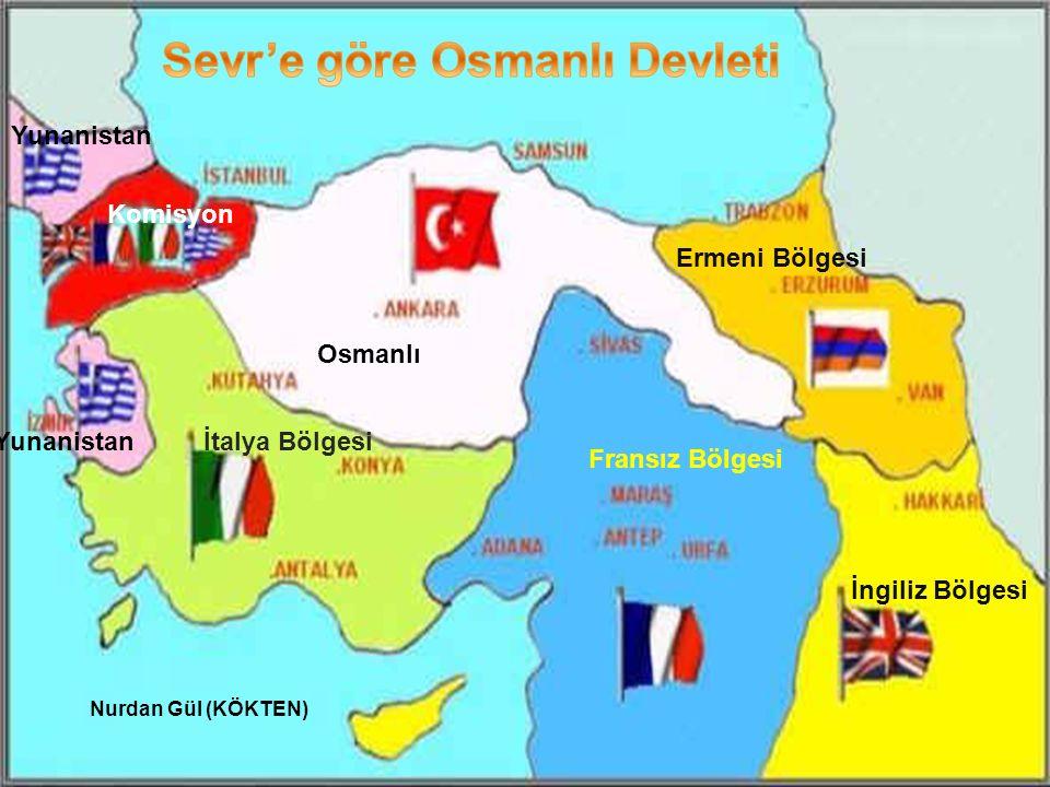 Sevr'e göre Osmanlı Devleti