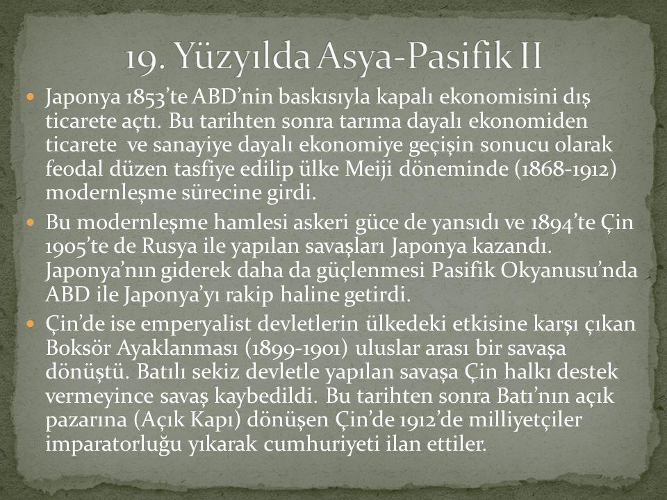 19. Yüzyılda Asya-Pasifik II