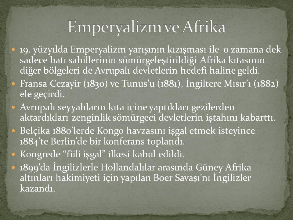 Emperyalizm ve Afrika