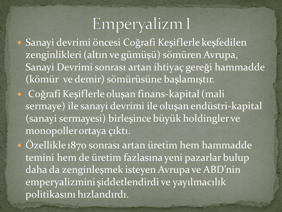 Emperyalizm I