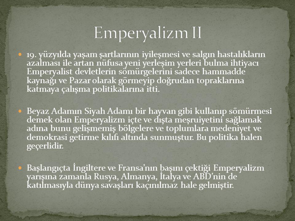 Emperyalizm II