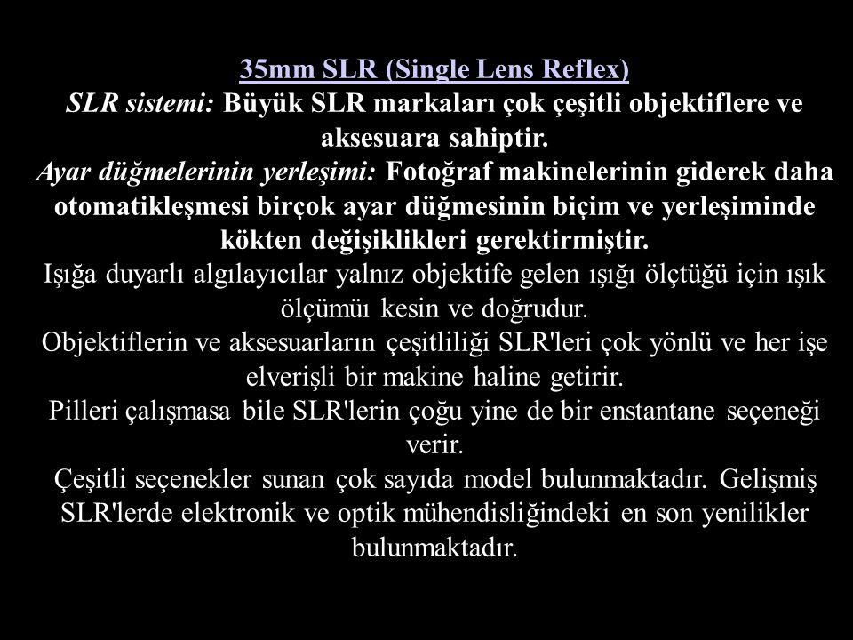 35mm SLR (Single Lens Reflex)