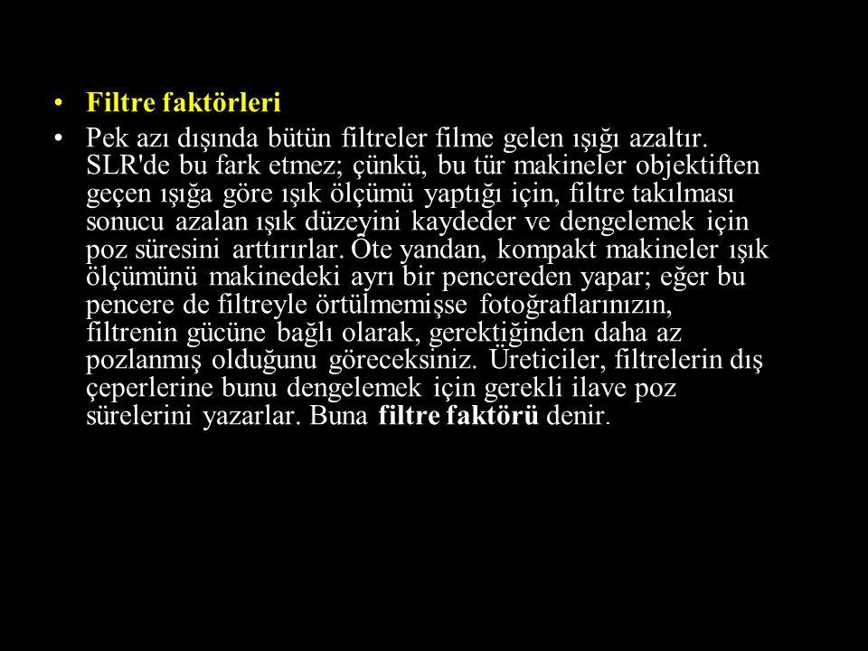 Filtre faktörleri