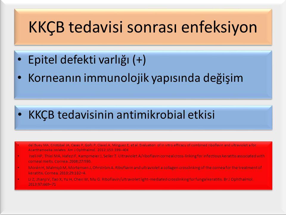 KKÇB tedavisi sonrası enfeksiyon