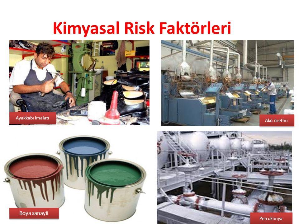 Kimyasal Risk Faktörleri