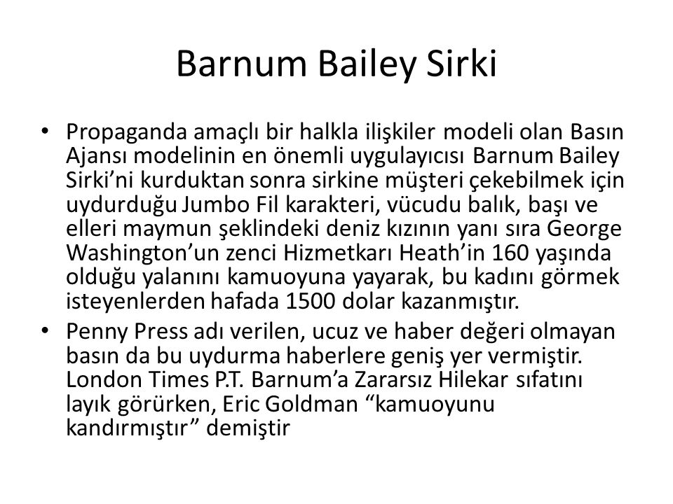 Barnum Bailey Sirki