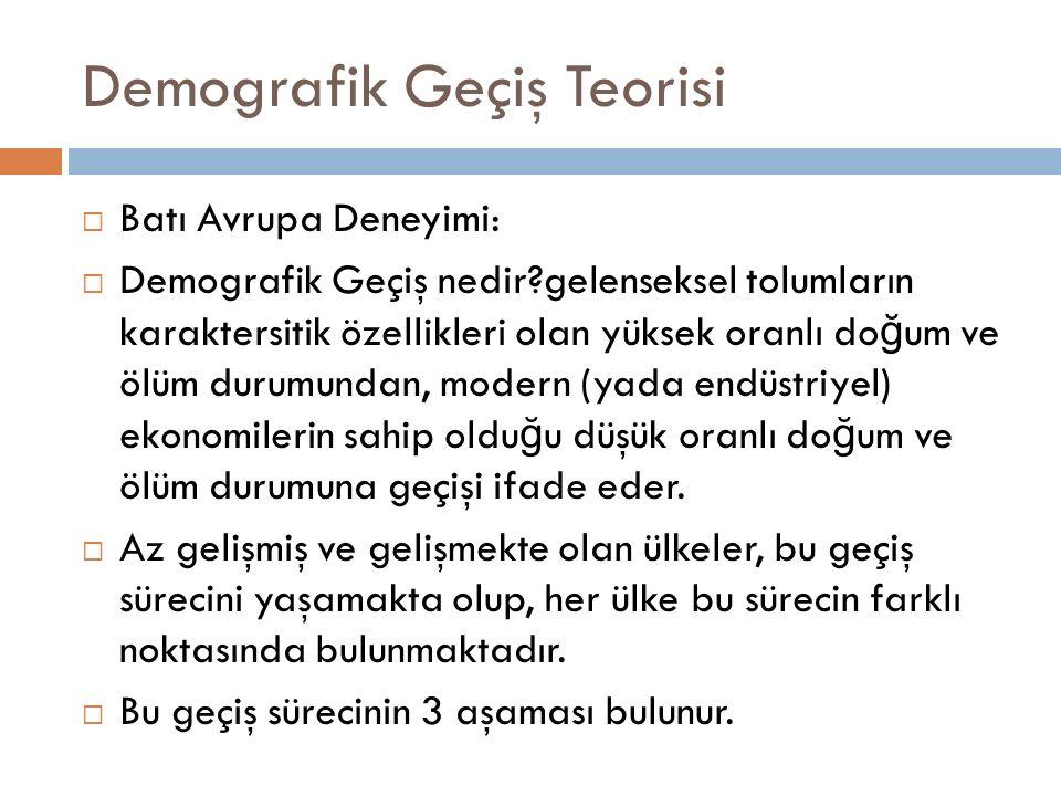 Demografik Geçiş Teorisi