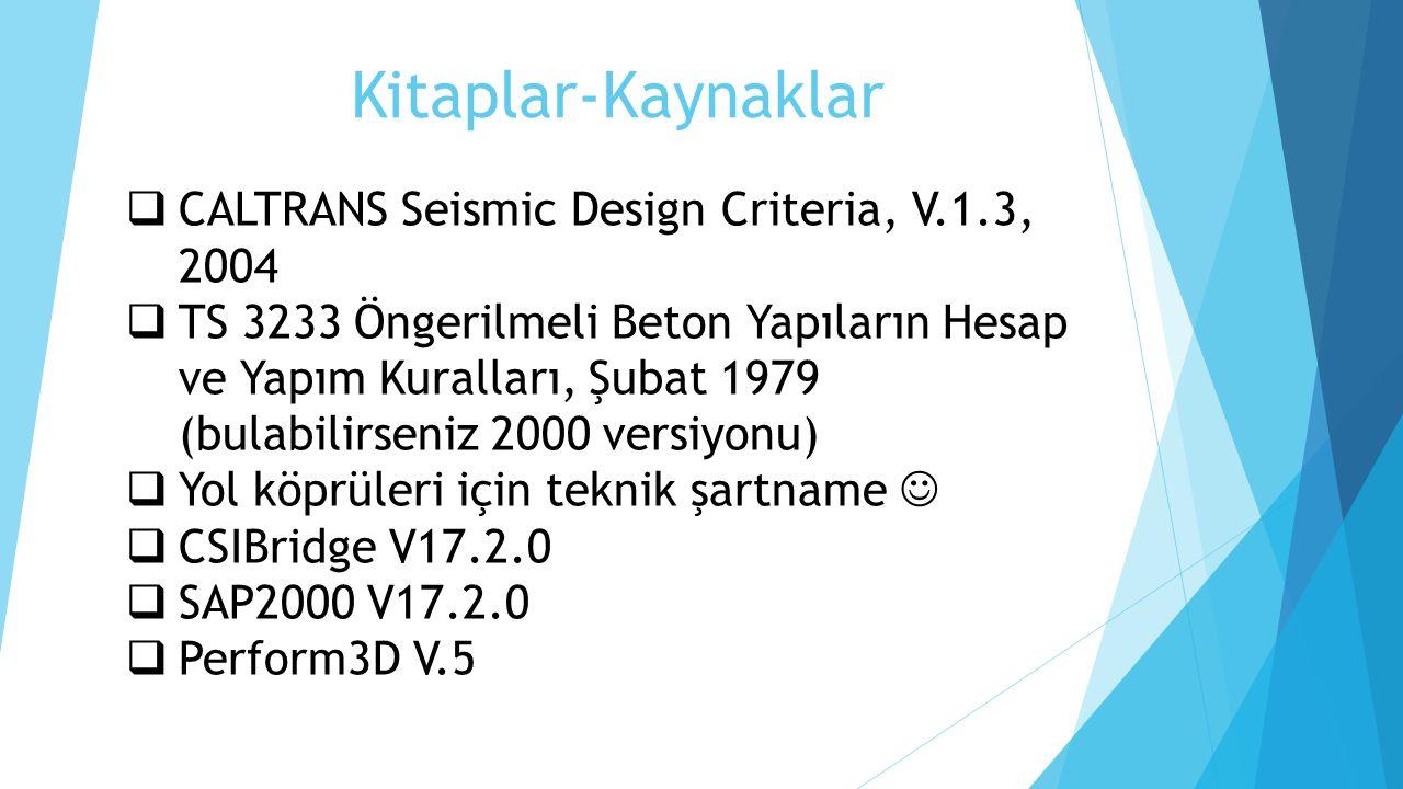 Kitaplar-Kaynaklar CALTRANS Seismic Design Criteria, V.1.3, 2004