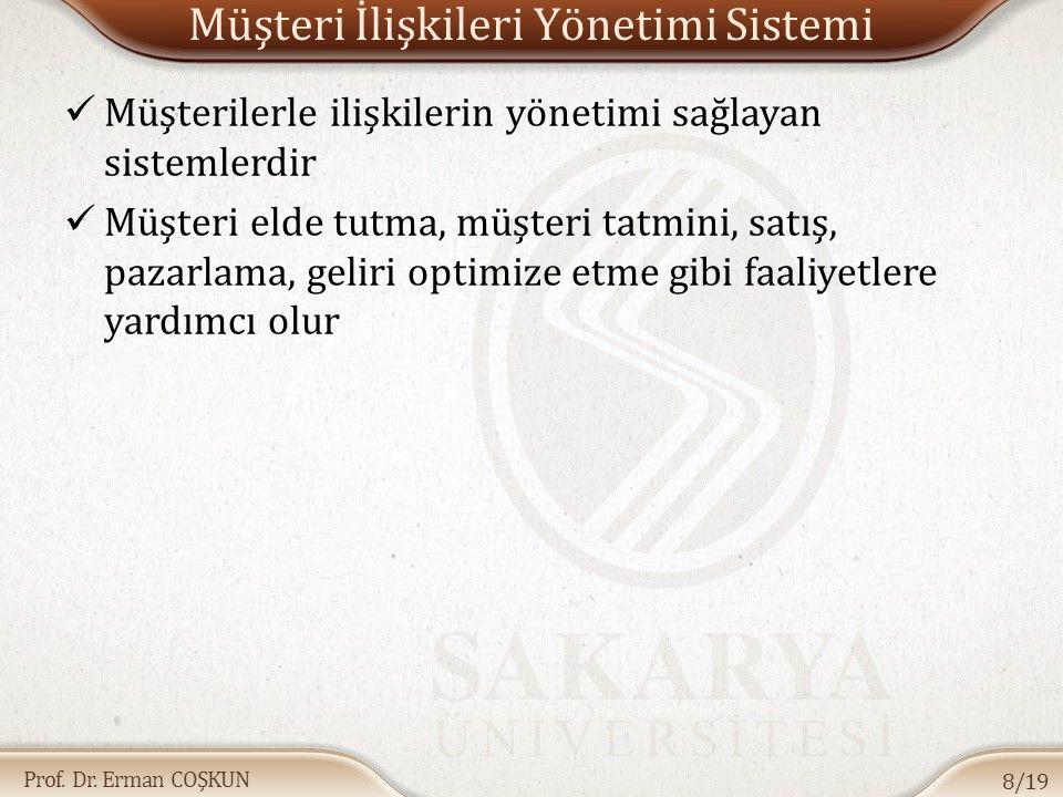 Müşteri İlişkileri Yönetimi Sistemi