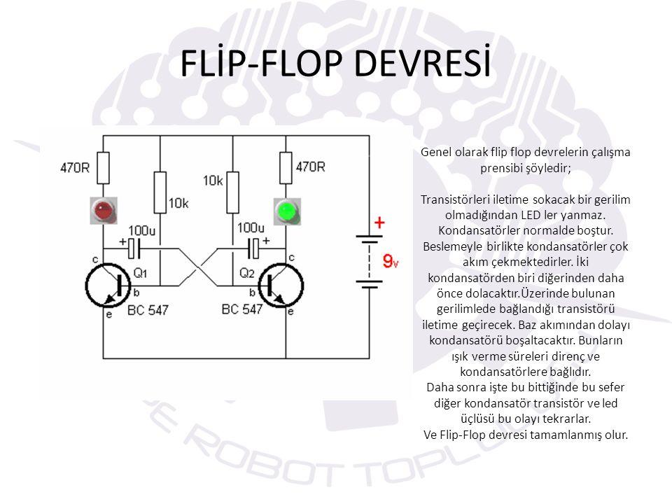 FLİP-FLOP DEVRESİ