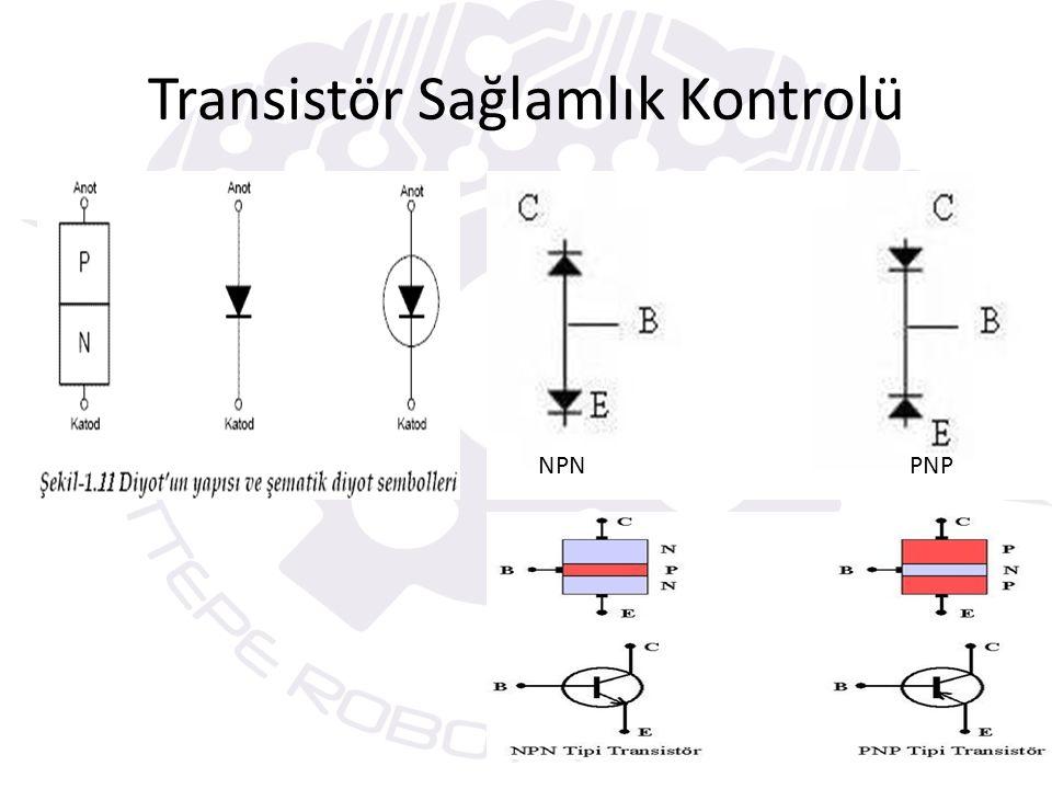 Transistör Sağlamlık Kontrolü