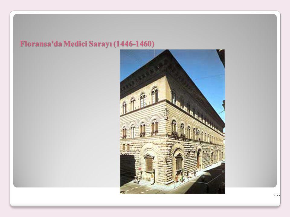 Floransa da Medici Sarayı (1446-1460)