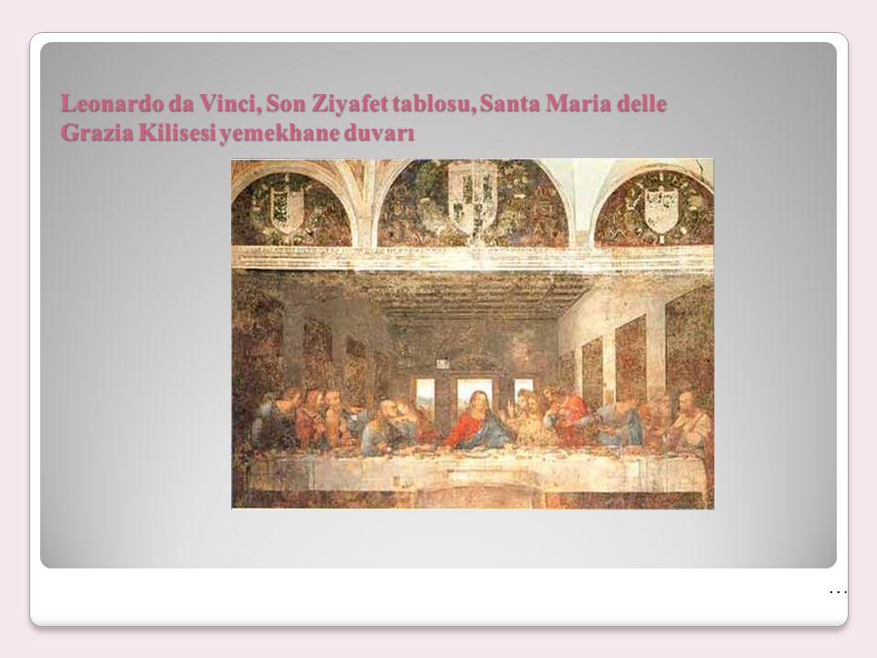Leonardo da Vinci, Son Ziyafet tablosu, Santa Maria delle Grazia Kilisesi yemekhane duvarı