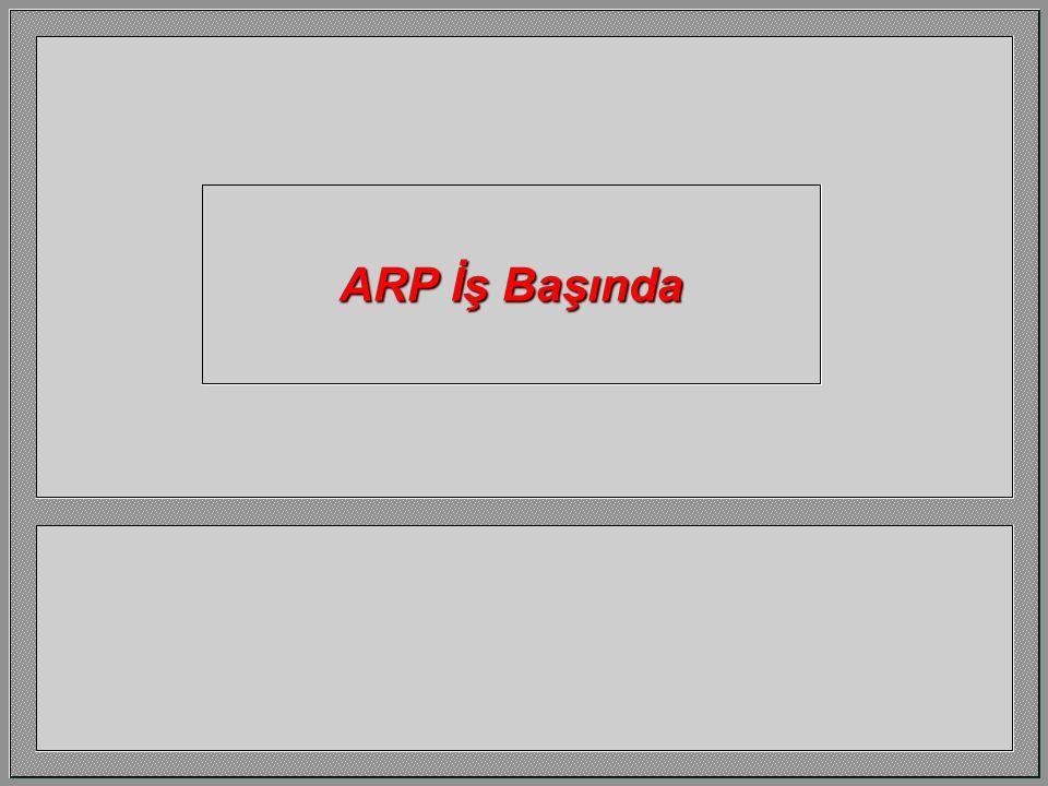 ARP İş Başında