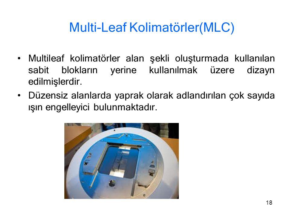 Multi-Leaf Kolimatörler(MLC)