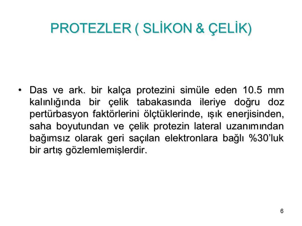 PROTEZLER ( SLİKON & ÇELİK)
