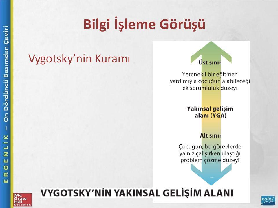Bilgi İşleme Görüşü Vygotsky'nin Kuramı