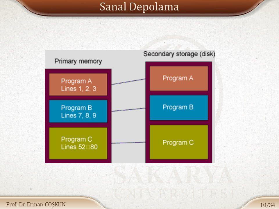 Sanal Depolama