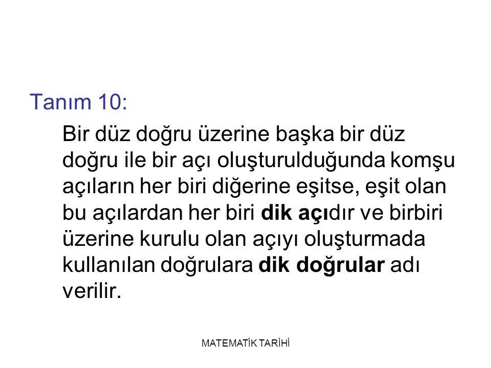 Tanım 10:
