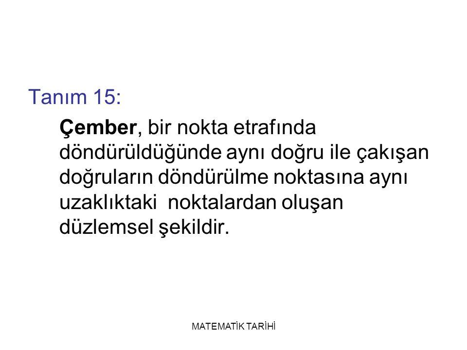 Tanım 15: