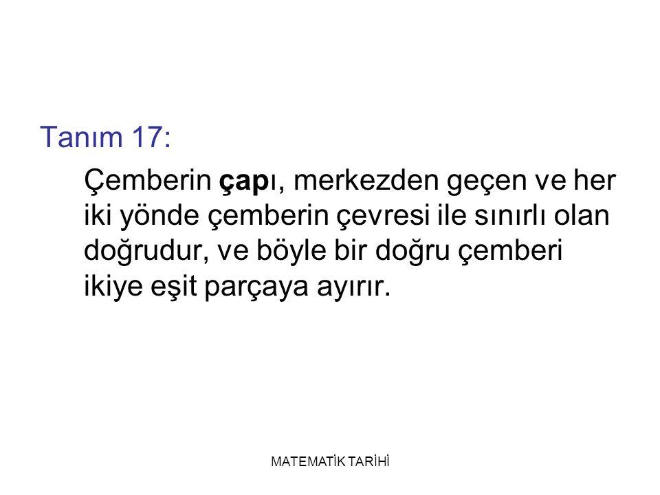 Tanım 17: