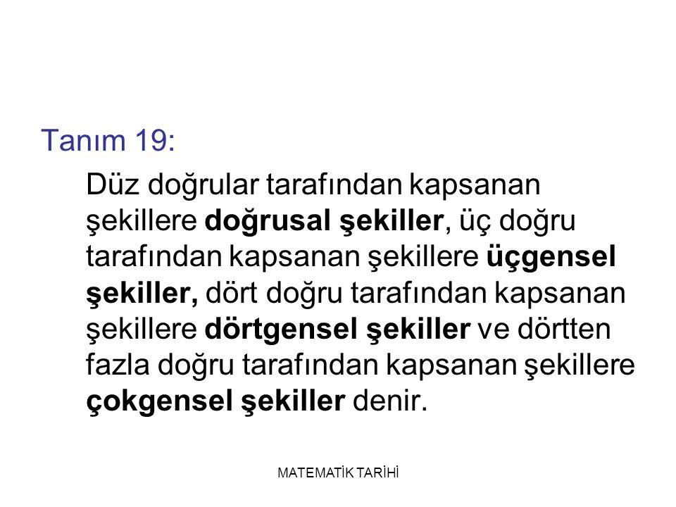 Tanım 19: