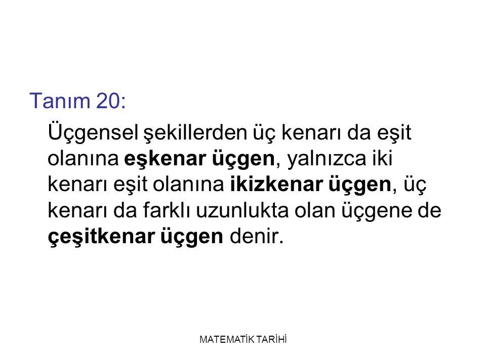 Tanım 20: