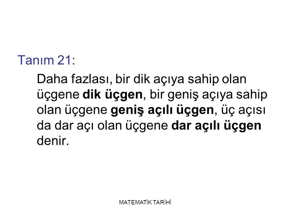 Tanım 21: