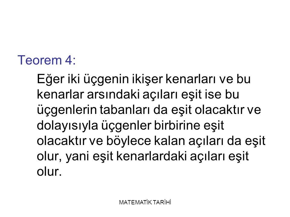 Teorem 4: