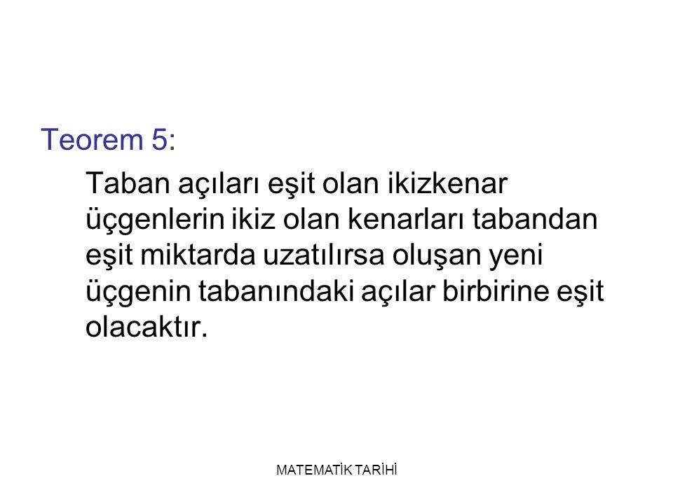 Teorem 5: