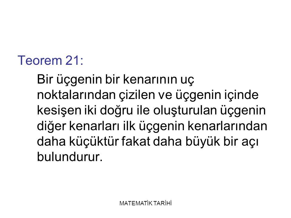 Teorem 21: