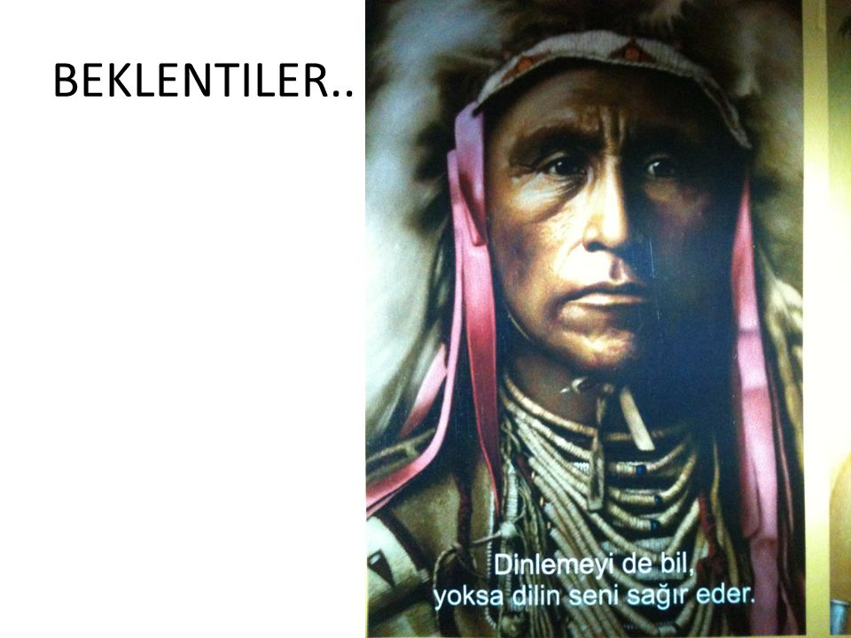 BEKLENTILER..