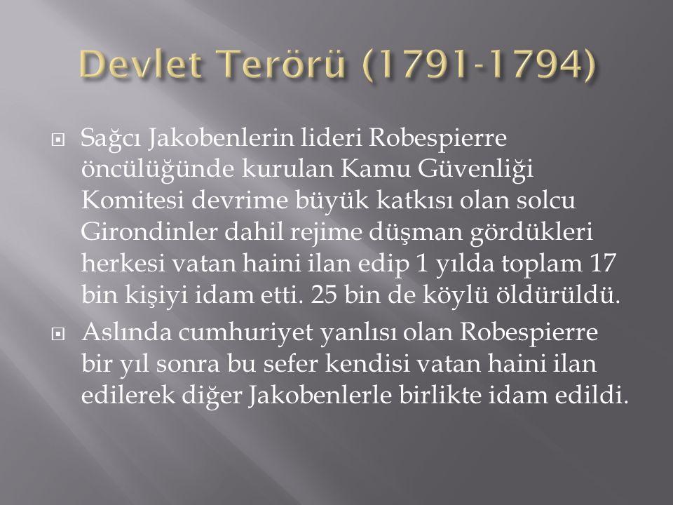 Devlet Terörü (1791-1794)