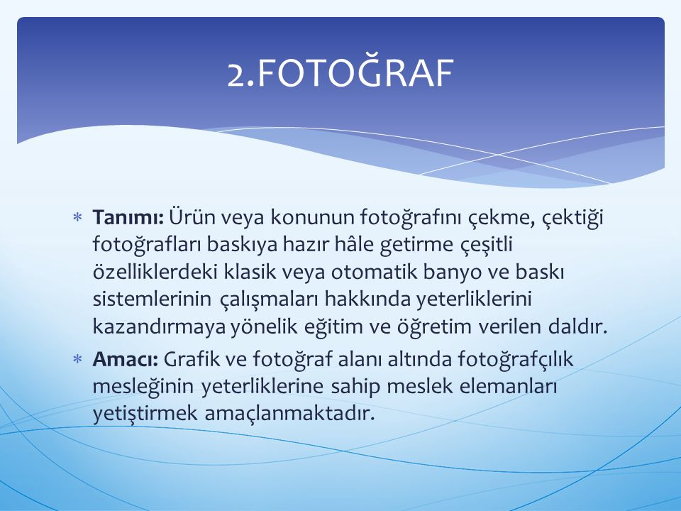 2.FOTOĞRAF