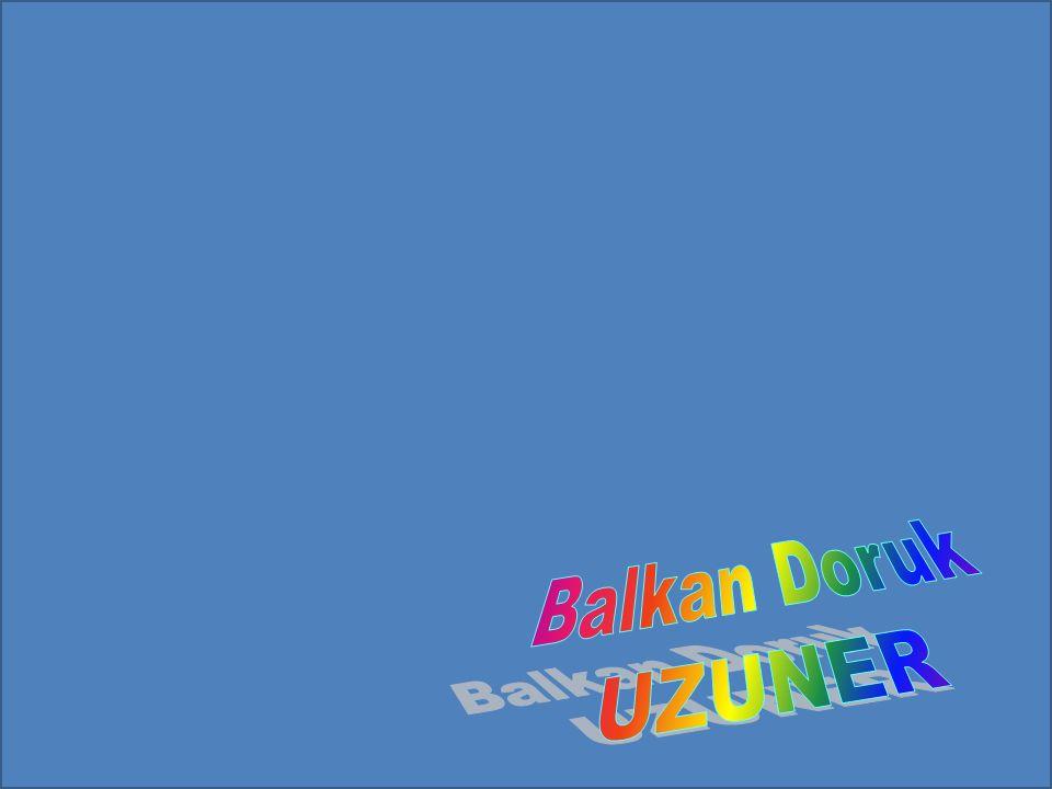Balkan Doruk UZUNER