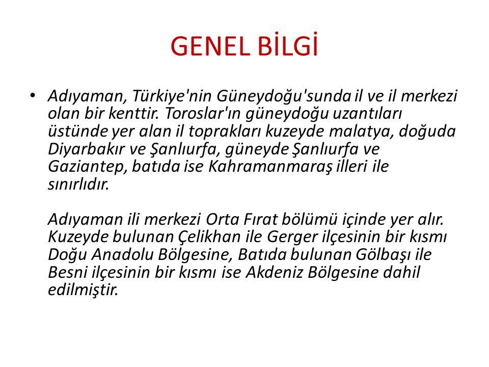 GENEL BİLGİ