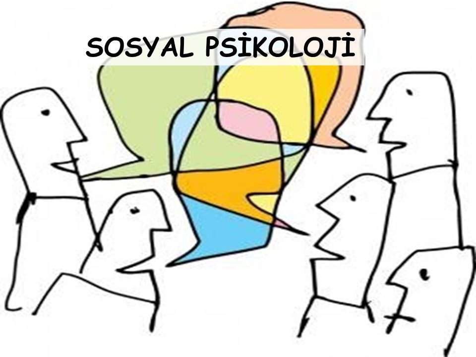 SOSYAL PSİKOLOJİ