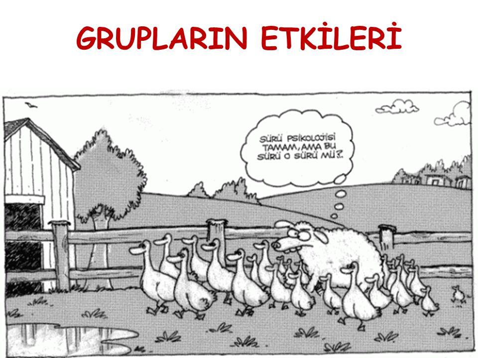 GRUPLARIN ETKİLERİ