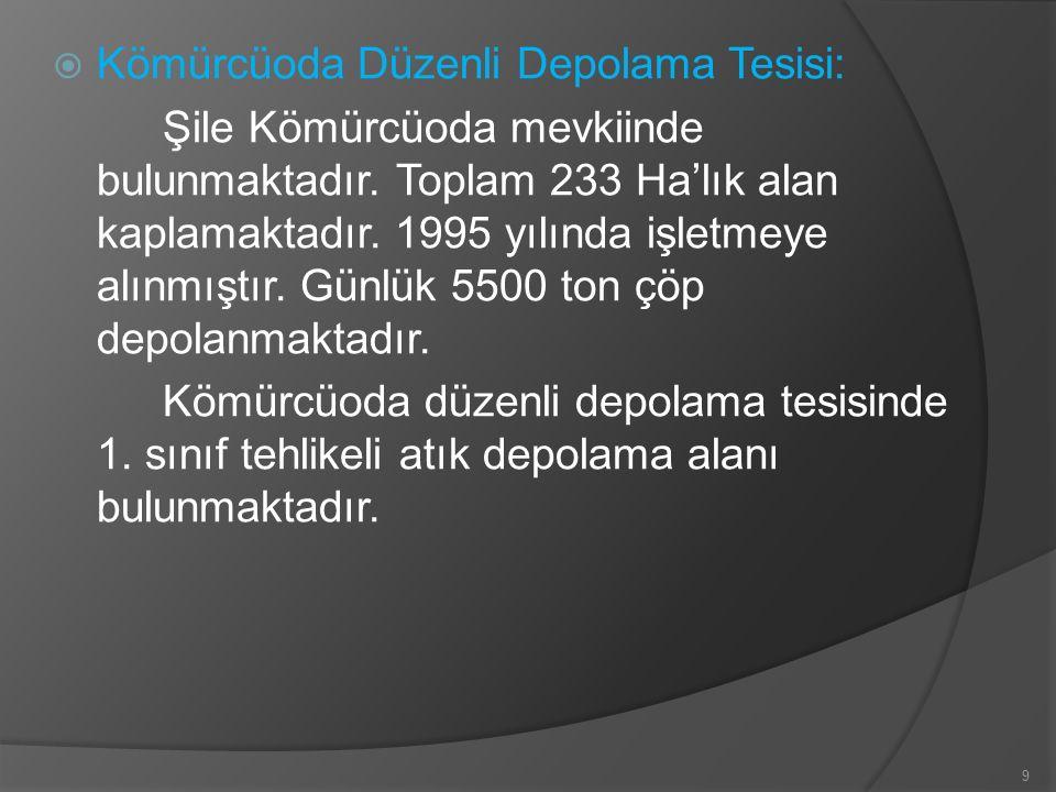 Kömürcüoda Düzenli Depolama Tesisi: